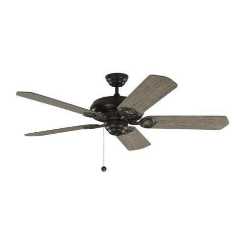 York Aged Pewter 52-Inch Ceiling Fan
