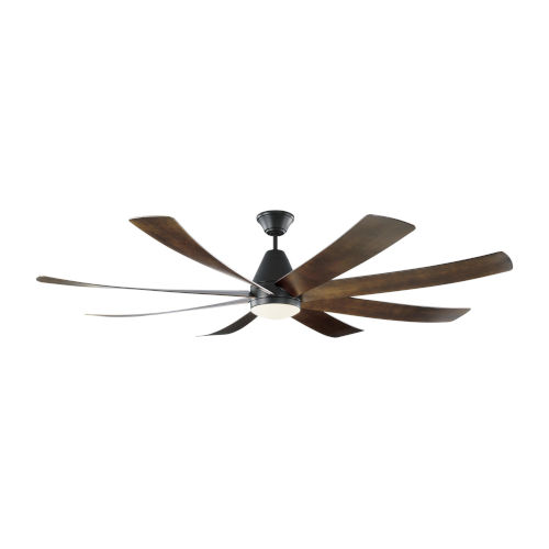 Kingston Matte Black 72-Inch LED Ceiling Fan