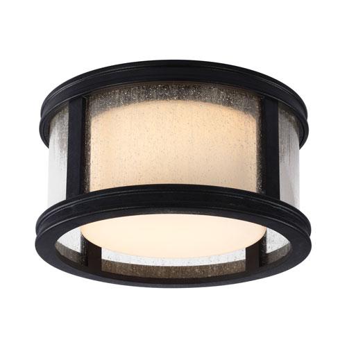 Tillbury Weathered Zinc LED Ceiling Fan Light Kit