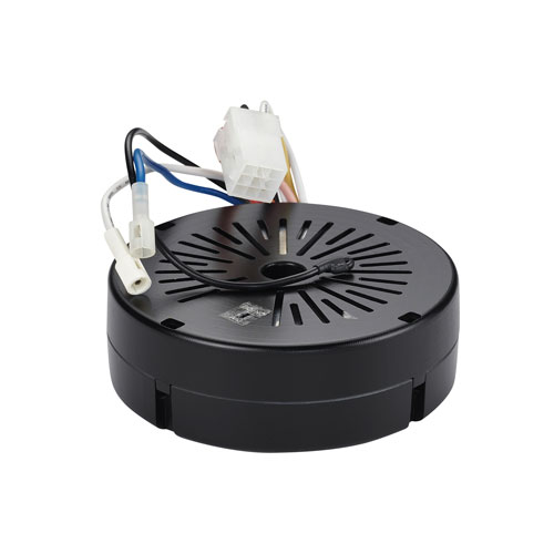 Black Fan Mounted Receiver with Reverse