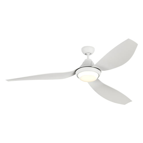 Avvo Max Rubberized White 64-Inch LED Ceiling Fan