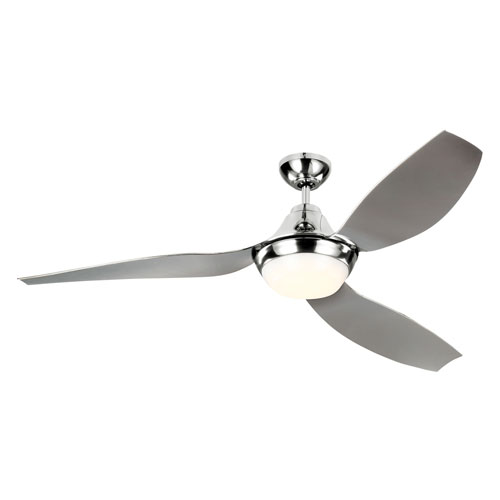 Acrylic ceiling fan bellacor monte carlo avvo quicksilver 56 inch led ceiling fan aloadofball Image collections