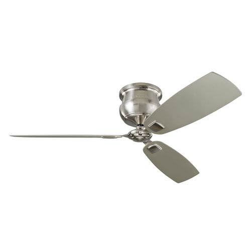 Cannondale Brushed Steel 56-Inch Ceiling Fan