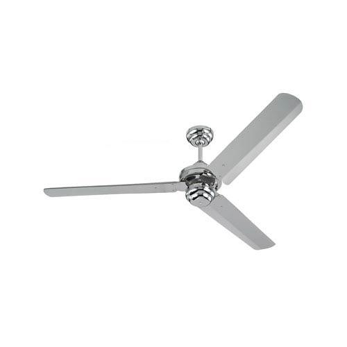Monte Carlo Studio Polished Nickel 54-Inch Ceiling Fan
