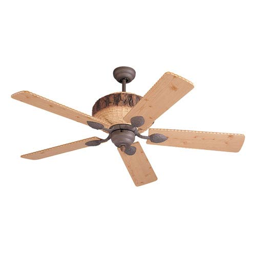 Great Lodge 52 Inch Weather Iron Ceiling Fan