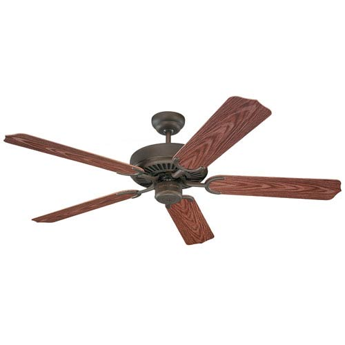 Weatherford 52-Inch Energy Star Roman Bronze Outdoor Ceiling Fan