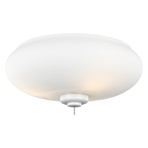 Rubberized White Three-Light LED Light Kit