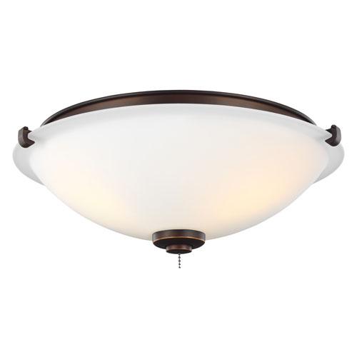 Roman Bronze Three-Light LED Light Kit
