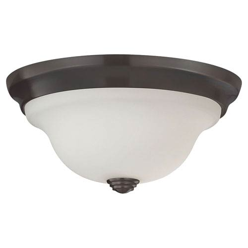 Feiss Beckett Oil Rubbed Bronze Indoor Flush Mount Fixture