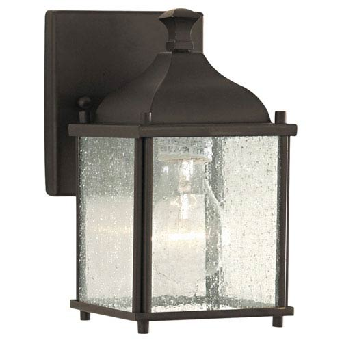 Feiss Terrace Oil Rubbed Bronze Outdoor Wall Lantern Light
