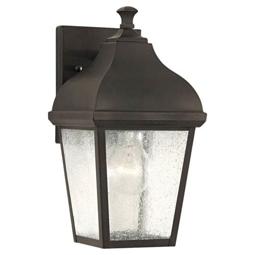 Feiss Terrace Oil Rubbed Bronze Outdoor Wall Lantern Light