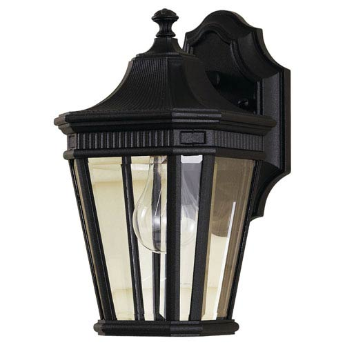 Feiss Cotswold Lane Black Outdoor Wall Lantern