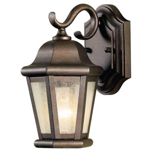 Feiss Martinsville Corinthian Bronze Outdoor Wall Lantern Light
