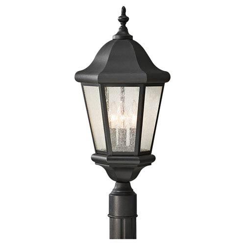 Feiss Martinsville Black Outdoor Post Light