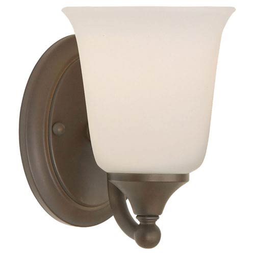 Feiss Claridge Oil Rubbed Bronze Vanity Fixture