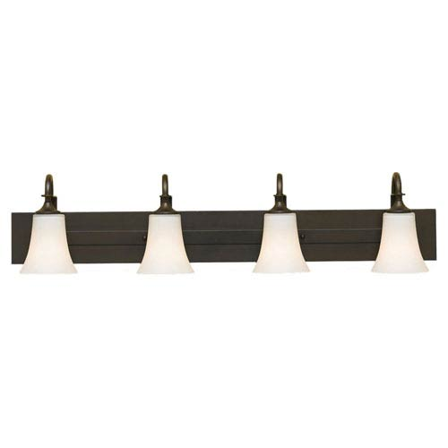 Barrington Oil Rubbed Bronze Four-Light Vanity Fixture