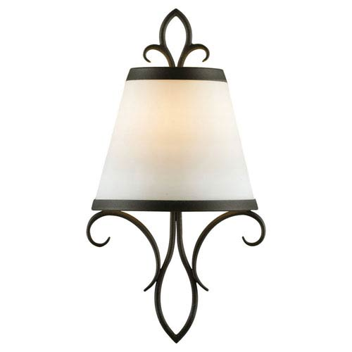 Feiss Peyton Black Wall Sconce