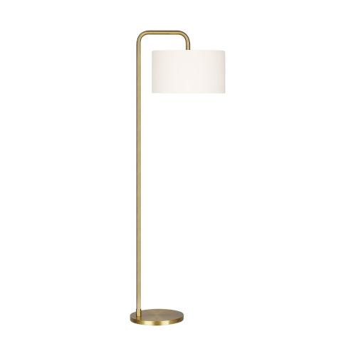 Dean Burnished Brass One-Light Title 24 Floor Lamp