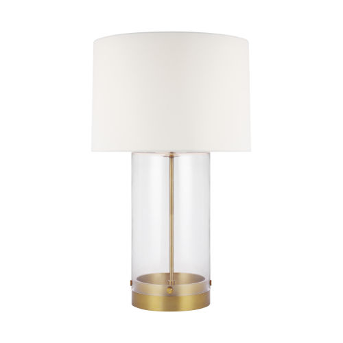 Garrett Burnished Brass 31-Inch LED Table Lamp