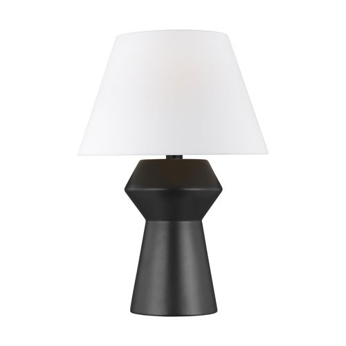 Abaco Coal 17-Inch LED Inverted Table Lamp Title 24