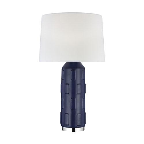 Morada Indigo 16-Inch LED Table Lamp Title 24