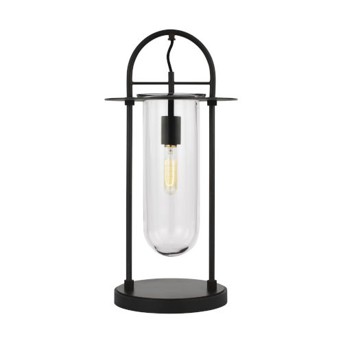 Nuance Aged Iron LED Table Lamp
