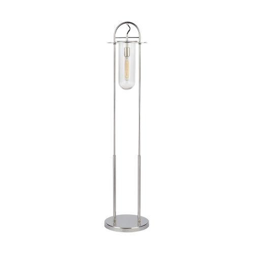 Nuance Polished Nickel LED Floor Lamp