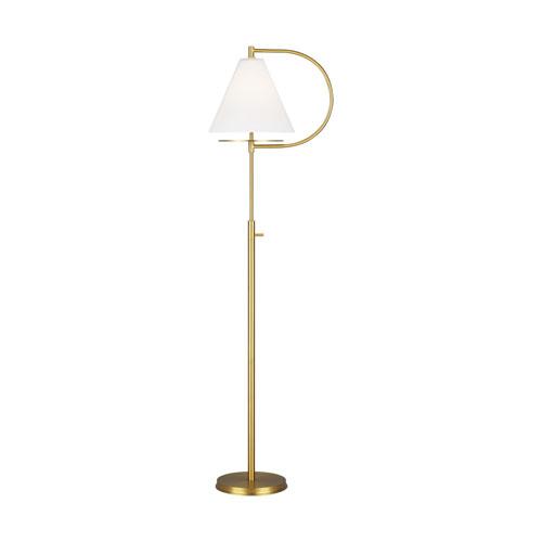 Gesture Burnished Brass Floor Lamp