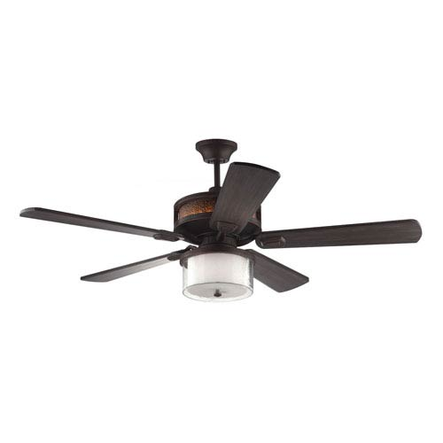 Monte Carlo Artizan Roman Bronze 56 Inch Led Outdoor Ceiling Fan