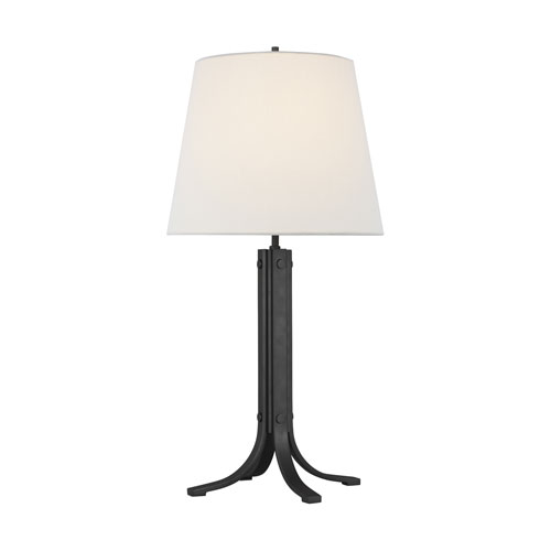 Logan Aged Iron One-Light LED Table Lamp