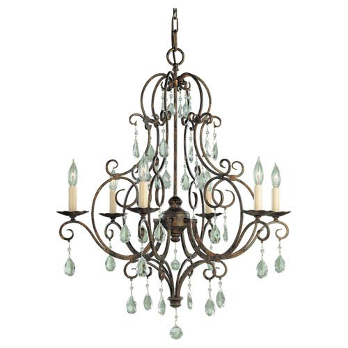 Chateau Six-Light Chandelier