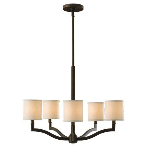 Feiss Stelle Oil Rubbed Bronze Five-Light Chandelier