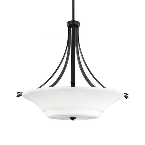 Summerdale Oil Rubbed Bronze Three-Light 24-Inch Wide Pendant