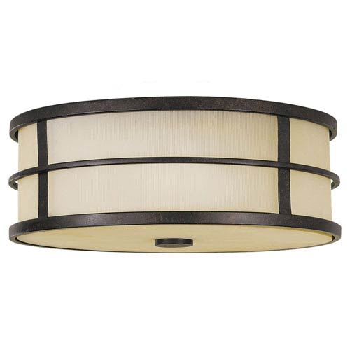 Feiss Fusion Large Flush Ceiling Light