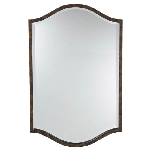 Feiss Drawing Room Walnut Mirror