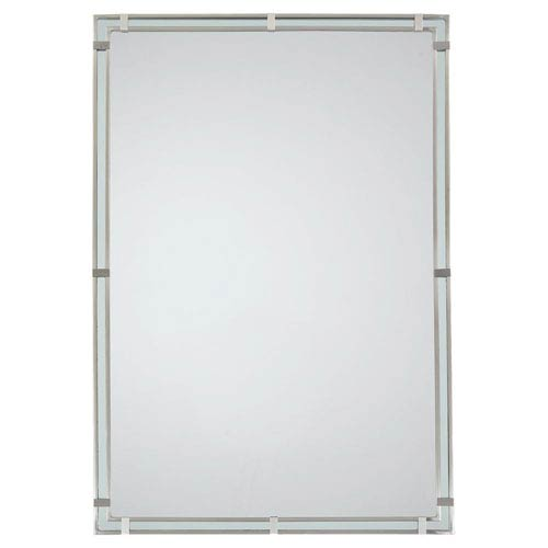 Parker Place Brushed Steel Mirror