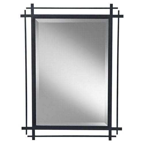 Ethan Antique Forged Iron  Mirror