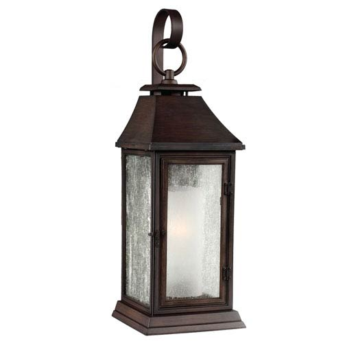 Shepherd Heritage Copper One-Light 20-Inch Outdoor Wall Sconce