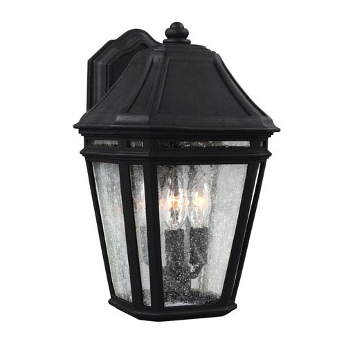 Londontowne Black One-Light 14-Inch Integrated LED Outdoor Wall Sconce