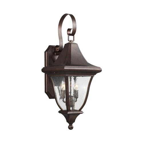 Oakmont Patina Bronze Two-Light Outdoor Wall Lantern