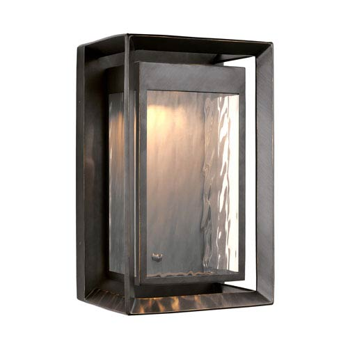 Urbandale Antique Bronze 16 Inch LED Outdoor Wall Lantern