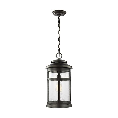 Newport Antique Bronze One-Light Hanging Lantern