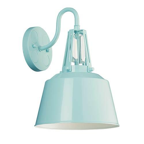 Freemont Hi Gloss Blue One-Light Outdoor Lantern