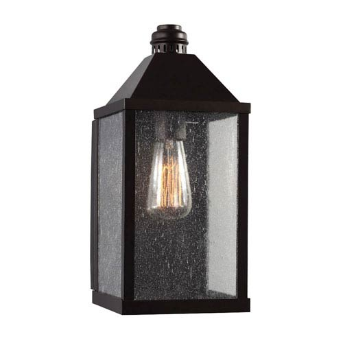 Lumiere Oil Rubbed Bronze One-Light 14-Inch High Outdoor Wall Sconce