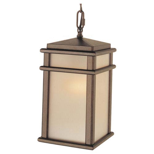 Feiss Mission Lodge Bronze Outdoor Hanging Lantern