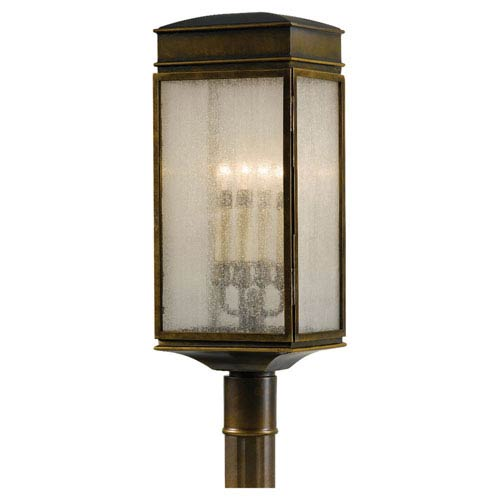 Feiss Whitaker Astral Bronze Outdoor Post Light