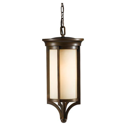 Merrill Heritage Bronze One-Light Integrated LED Outdoor Pendant
