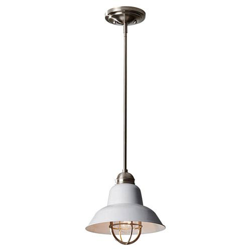 Feiss Urban Renewal Brushed Steel Pendant