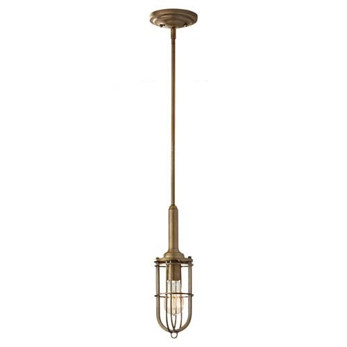 Urban Renewal Dark Antique Brass Mini Pendant