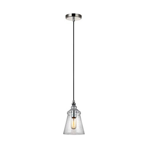 Loras Chrome One-Light Mini-Pendant